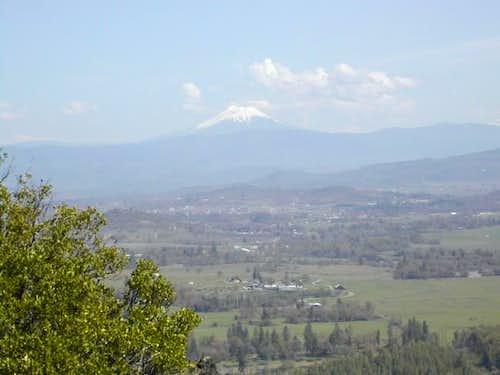 Mt. McLoughlin as seen from...