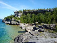 Overhanging Point Bruce Peninsula