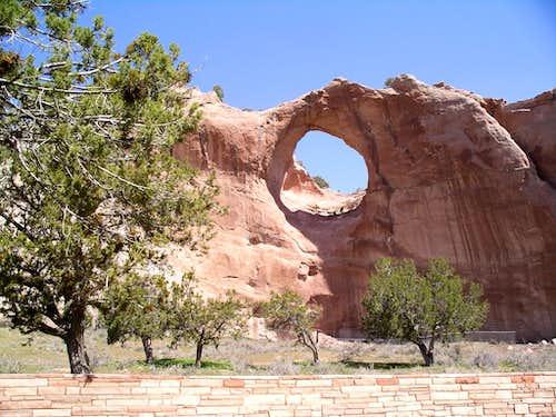 Window Rock Arch