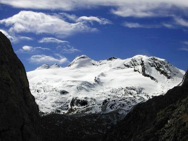 il ghiacciaio di Chateu Blanc