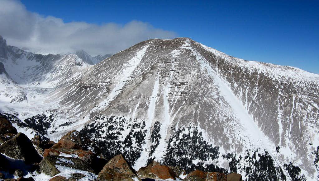 Massive Humboldt Peak from Marble Mtn