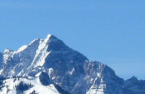 North Face of Pyramid Peak