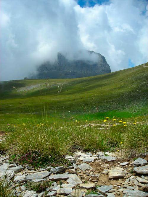 Olympus (Olymbos) Mt, Greece