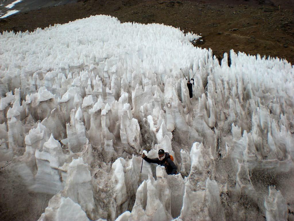 Penitentes on Aconcagua