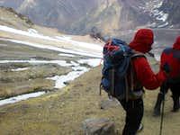 Canada camp, Aconcagua