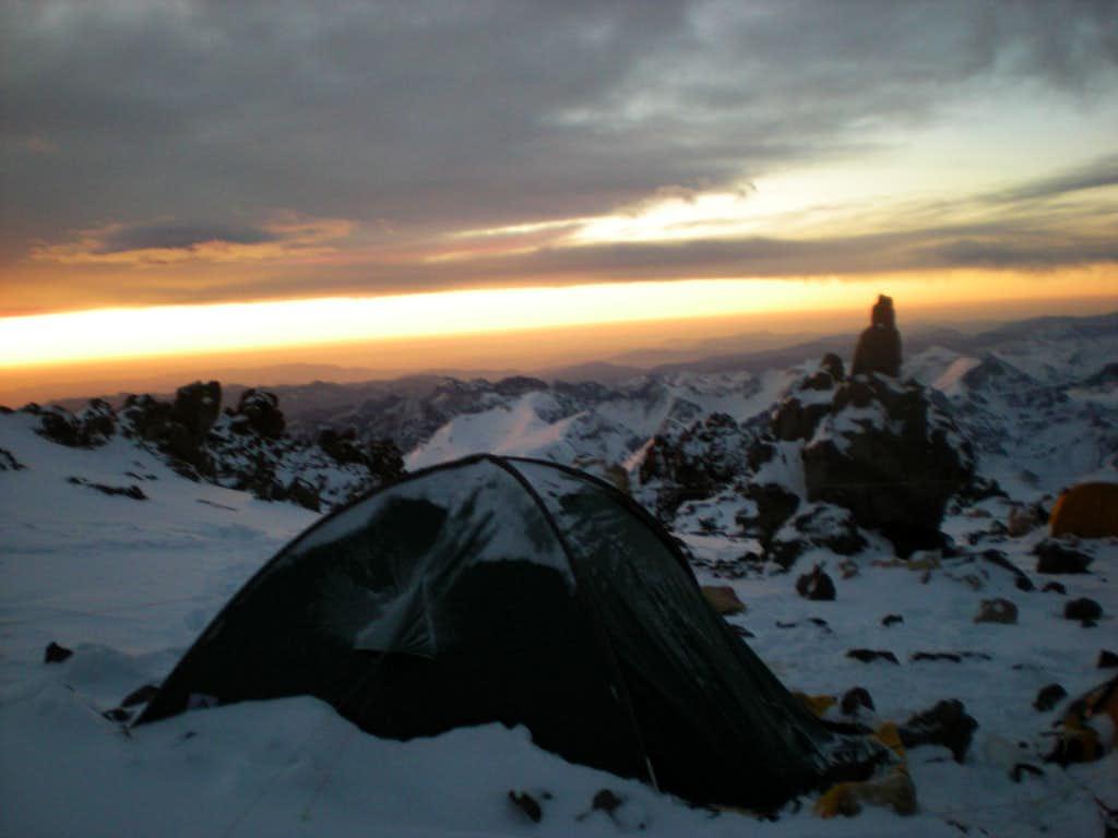 Berlin camp, Aconcagua