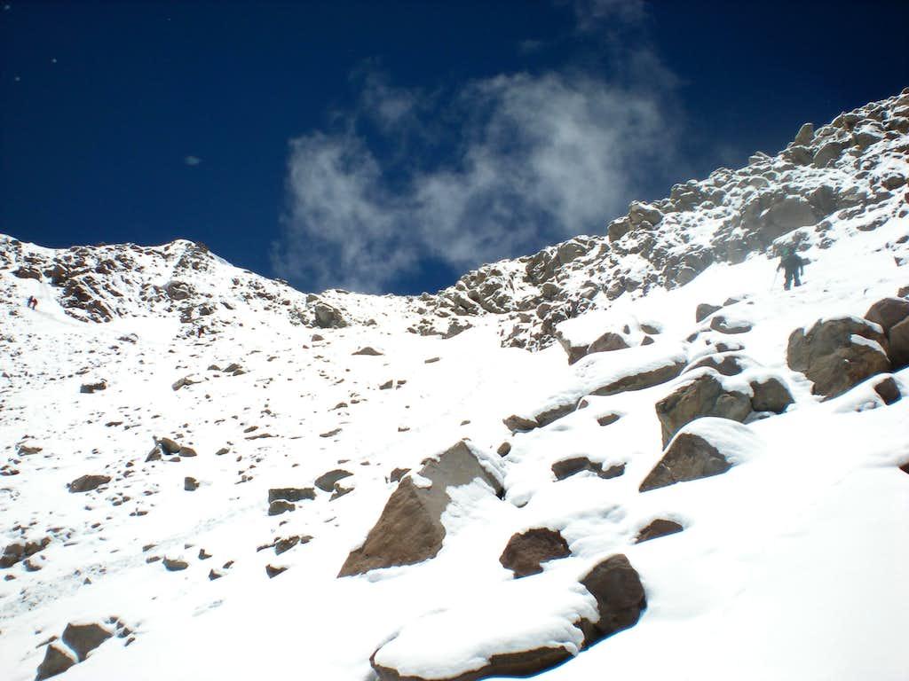 Canaleta, Aconcagua