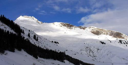 Valserhorn - Tallihorn - Barenhorn