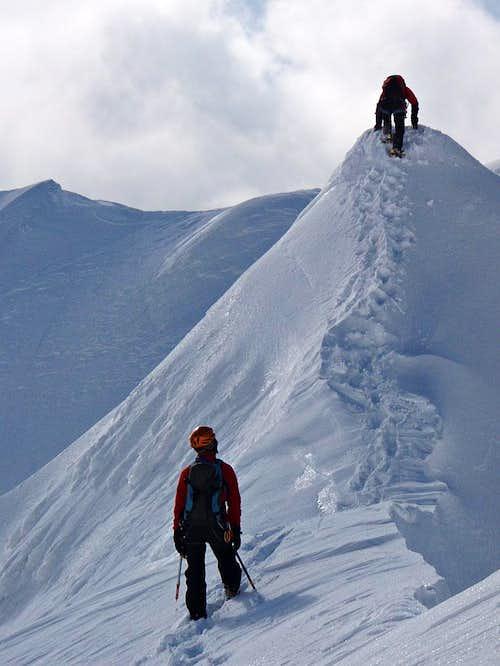 Terminilletto north ridge