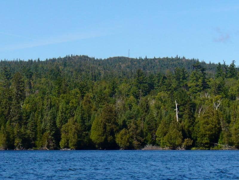 Ishpatina Ridge from Mihell Lake