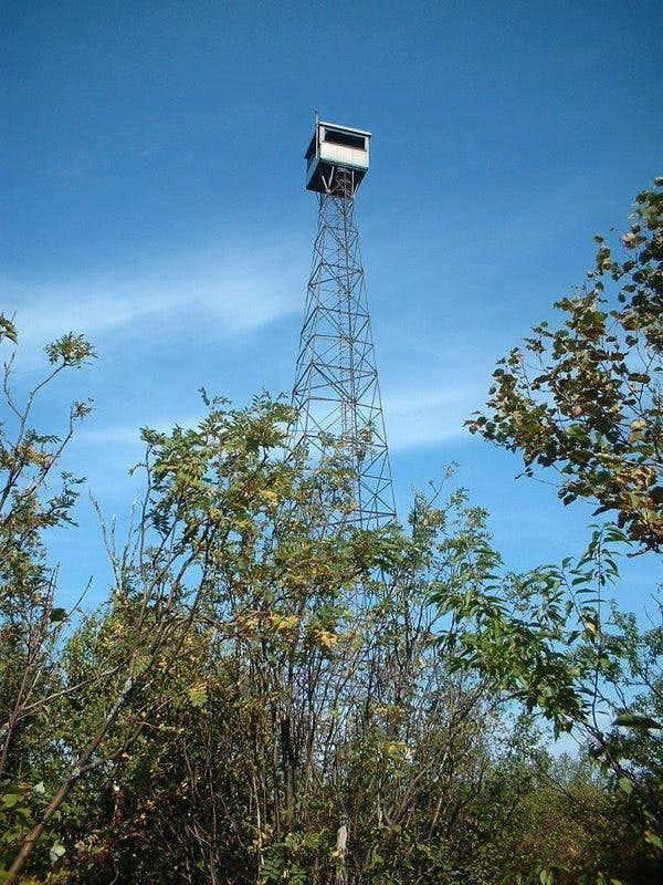 Ellis Fire Tower on Ishpatina