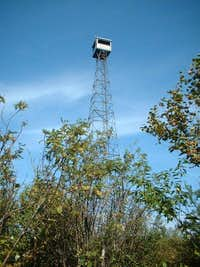 Ellis Fire Tower on Ishpatina