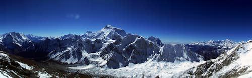Manaslu panorama