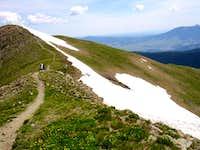 Trail of Mount Wheeler