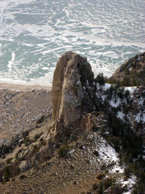 Rock Pinnacle on Cedar Mountain