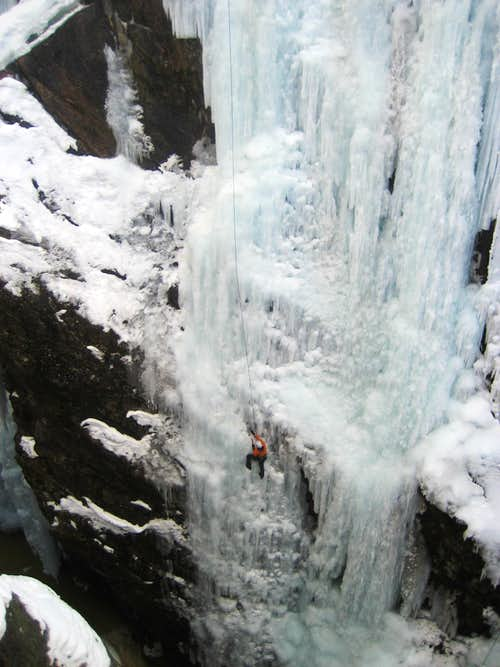 Ouray Ice Park - Jan 2009
