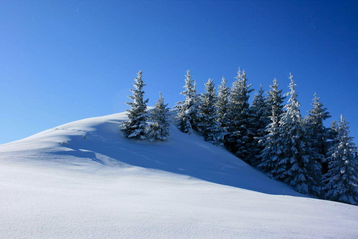 Winter Landscape Photos Diagrams Topos Summitpost