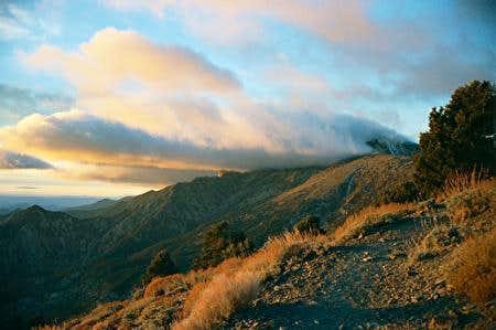 Storm over Telescope Peak...