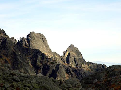 Summit of Prostredny Hrot