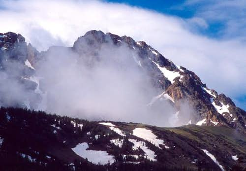 Eagles Nest from the north,...