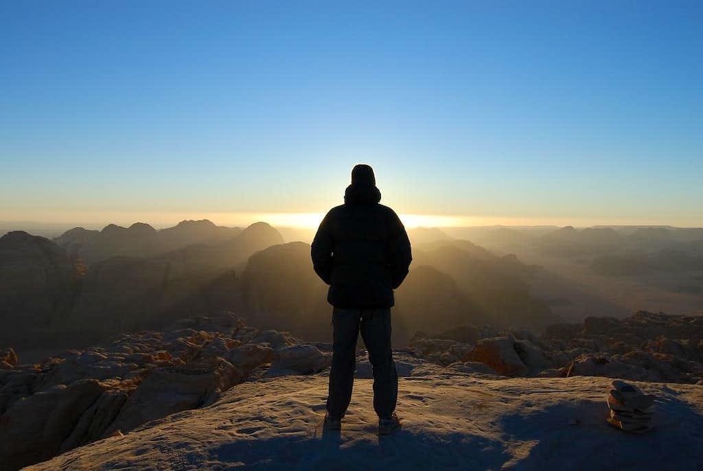 Good Morning at Jebel Rum summit