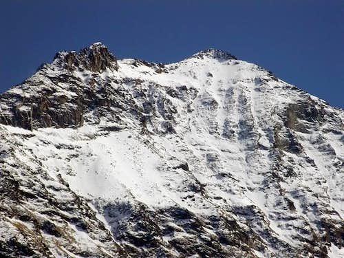 Tour de Salè <i>3072 m</i> and Becca de Salè <i>3137 m</i>