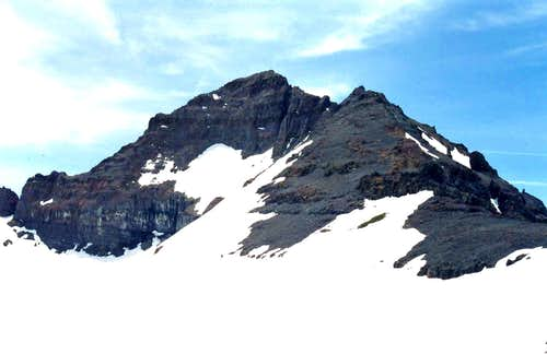 Latopie Peak from the northeast