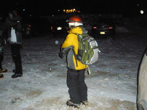 Suiting up for a Mount Washington Winter Ascent