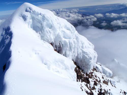 Iliniza Sur - Corniced Ridge