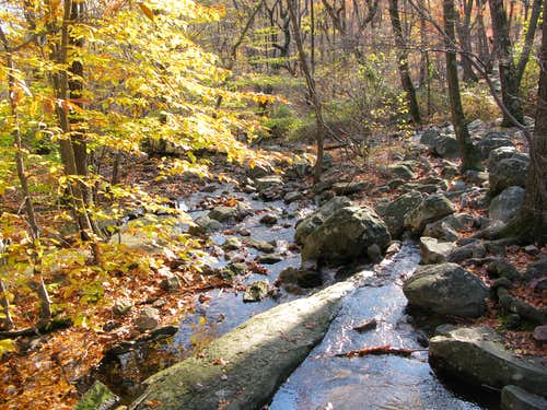 a stream by the Mohican Outdoor Center