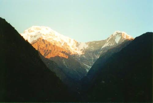 Annapurna South from near...