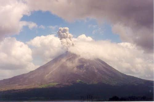 An eruption in Feb. of 1998....