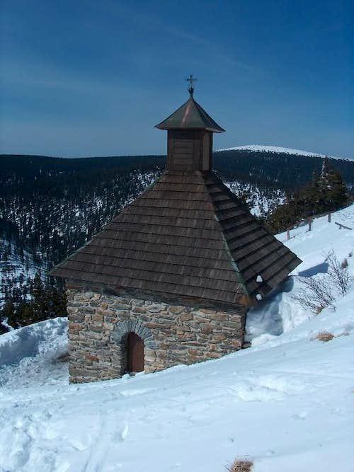 The chapel of Červená Hora