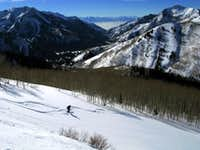 Skiing in Big Cottonwood Canyon