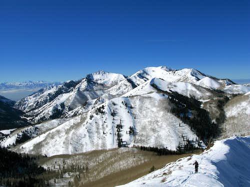 Gobbler's Knob, Mt. Raymond, and Mt. Reynolds