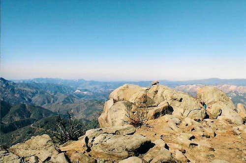 Summit looking NW