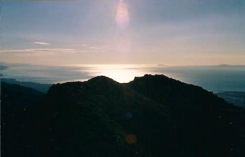 Peakbagging in Santa Barbara County