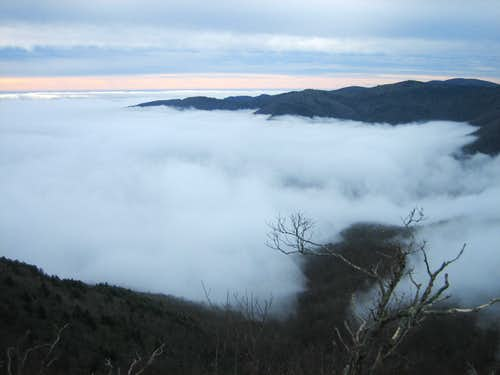 Clouds in Deep Gap