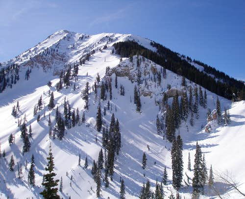 North ridge of Box Elder