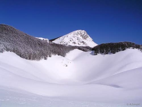 Upper Struge plateau, seen...
