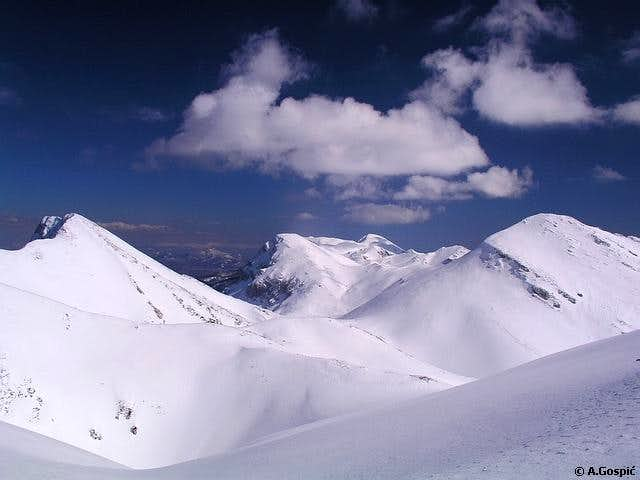 Among the highest peaks of...