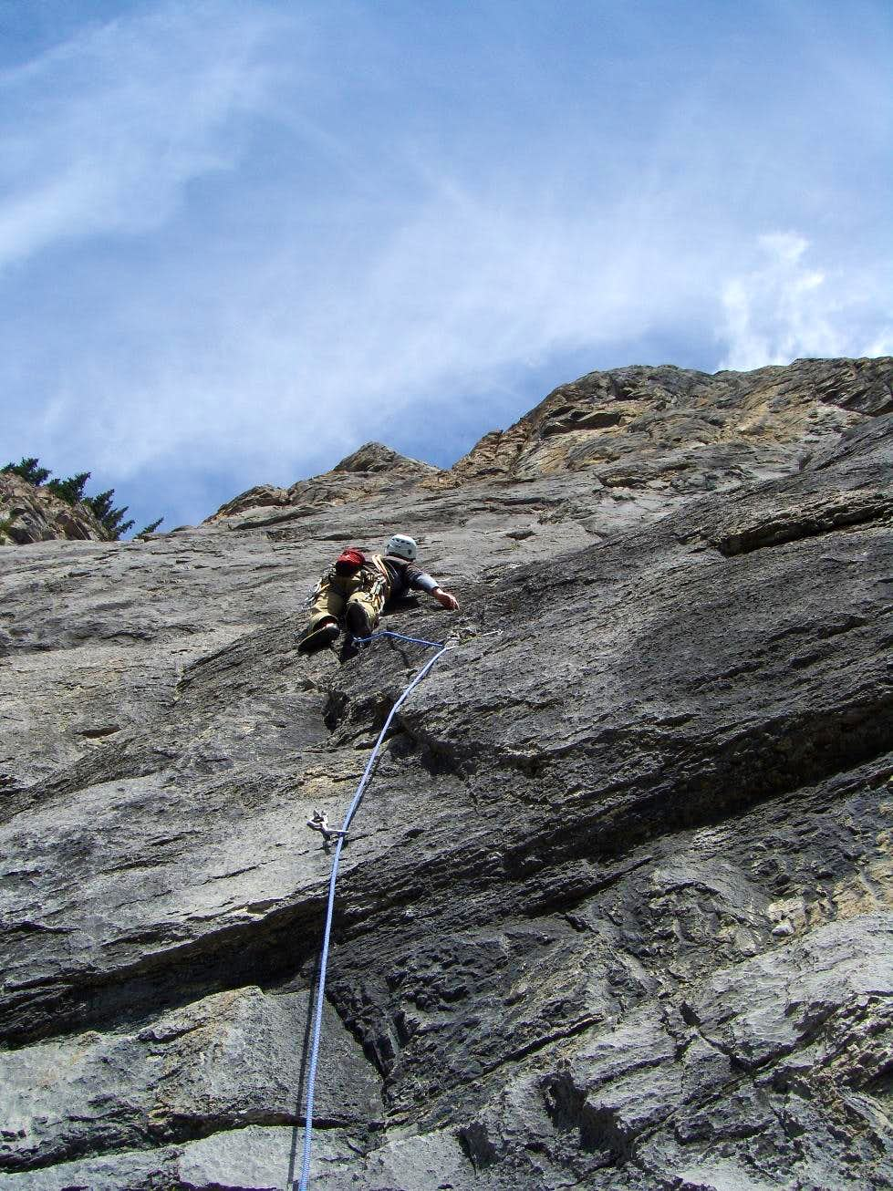 Walk of Ages, 5.10b
