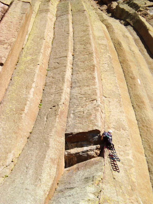 Devils Tower Wy >> Double Edge Blade on Devils Tower, Wyoming. : Photos ...