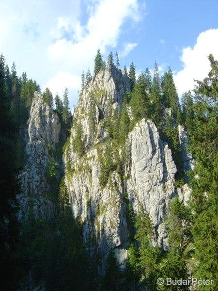 The triple spires of Dolina 3