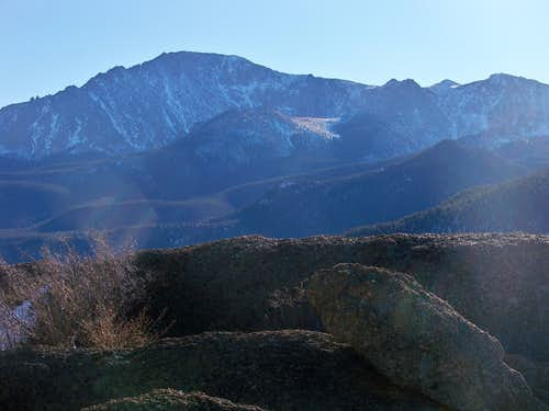 Pikes Peak from the Southeast Summit of Mount Esther