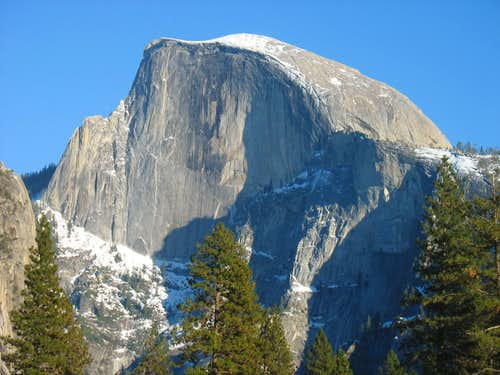 Northwest face of Half Dome