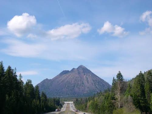 Black Butte as it towers over...