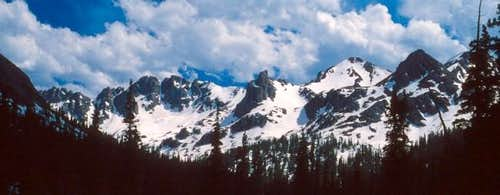The central Gore Range, taken...
