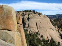 Point 8240 from Bishop Rock