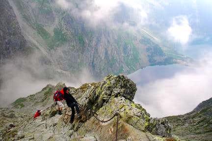 Rysy Climb